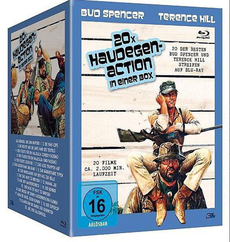 Bud Spencer & Terence Hill - 20x Haudegen-Action in einer Box