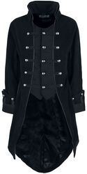 Pirate Coat Black Velvet