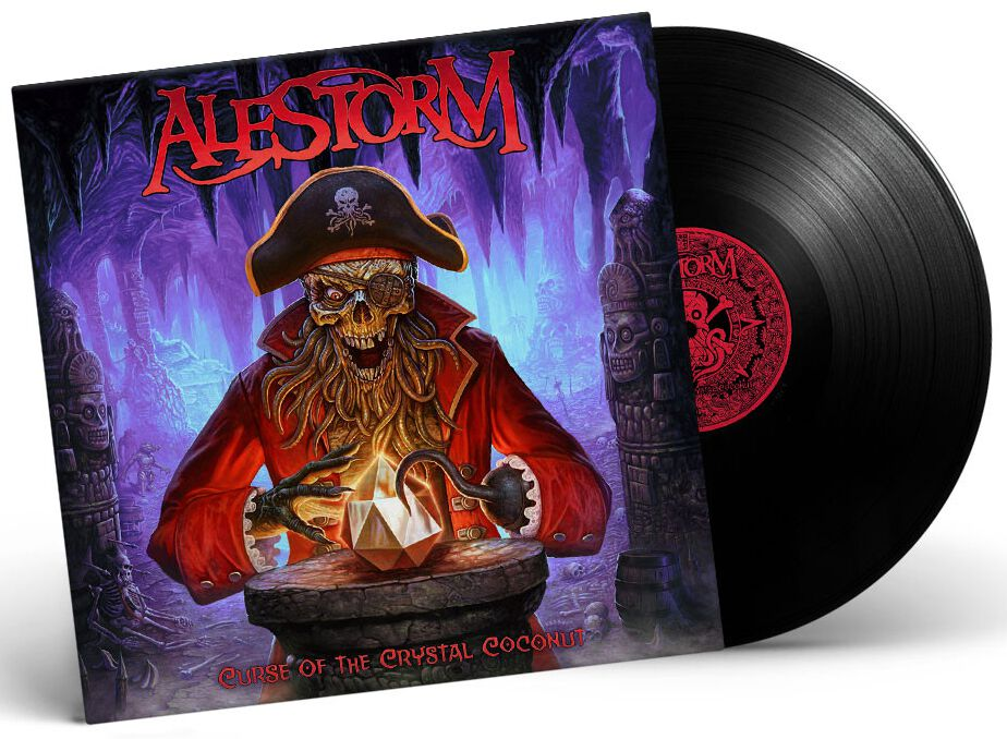 Alestorm  Curse of the crystal coconut  LP  Standard