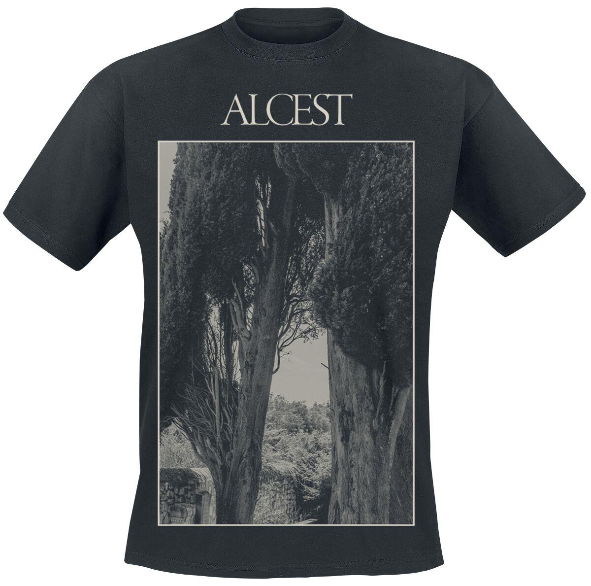 Image of Alcest Trees T-Shirt schwarz