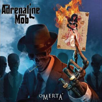 Image of Adrenaline Mob Omerta CD Standard