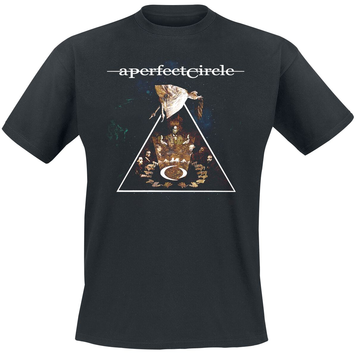 Image of A Perfect Circle Surrender Recolor T-Shirt schwarz