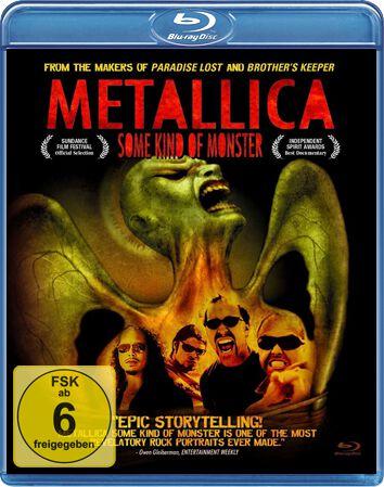 Image of Metallica Some kind of monster Blu-ray & DVD Standard