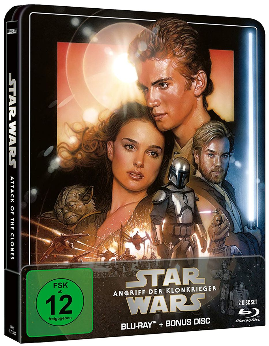Image of Star Wars Episode 2 - Angriff der Klonkrieger 2-Blu-ray Standard