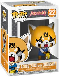 Aggretsuko with Chainsaw Vinyl Figure 22