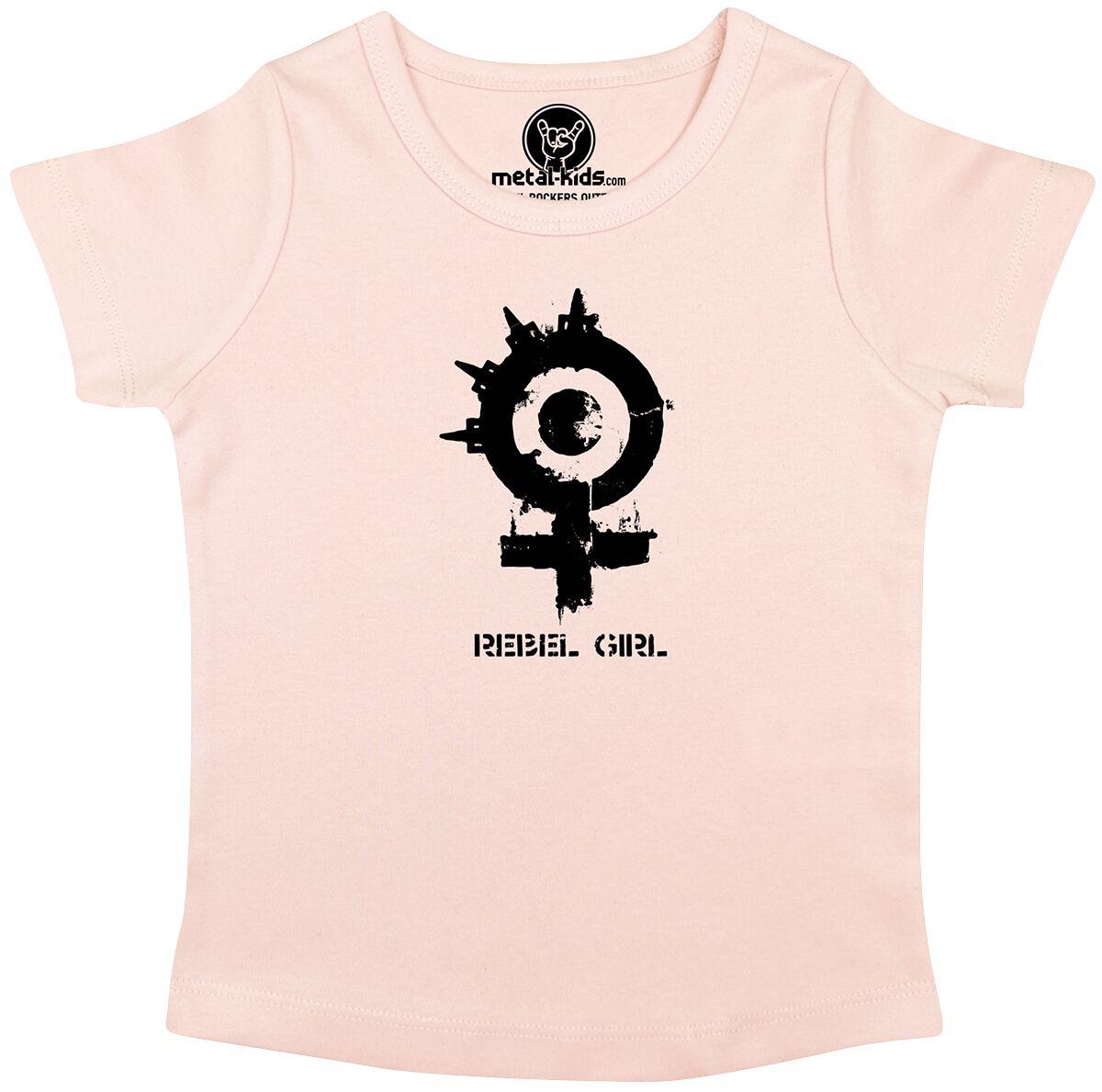 Image of Arch Enemy Rebel Girl Kids Maglia bimbo/a rosa pallido