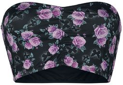 Bandeau mit Allover-Print Full Volume