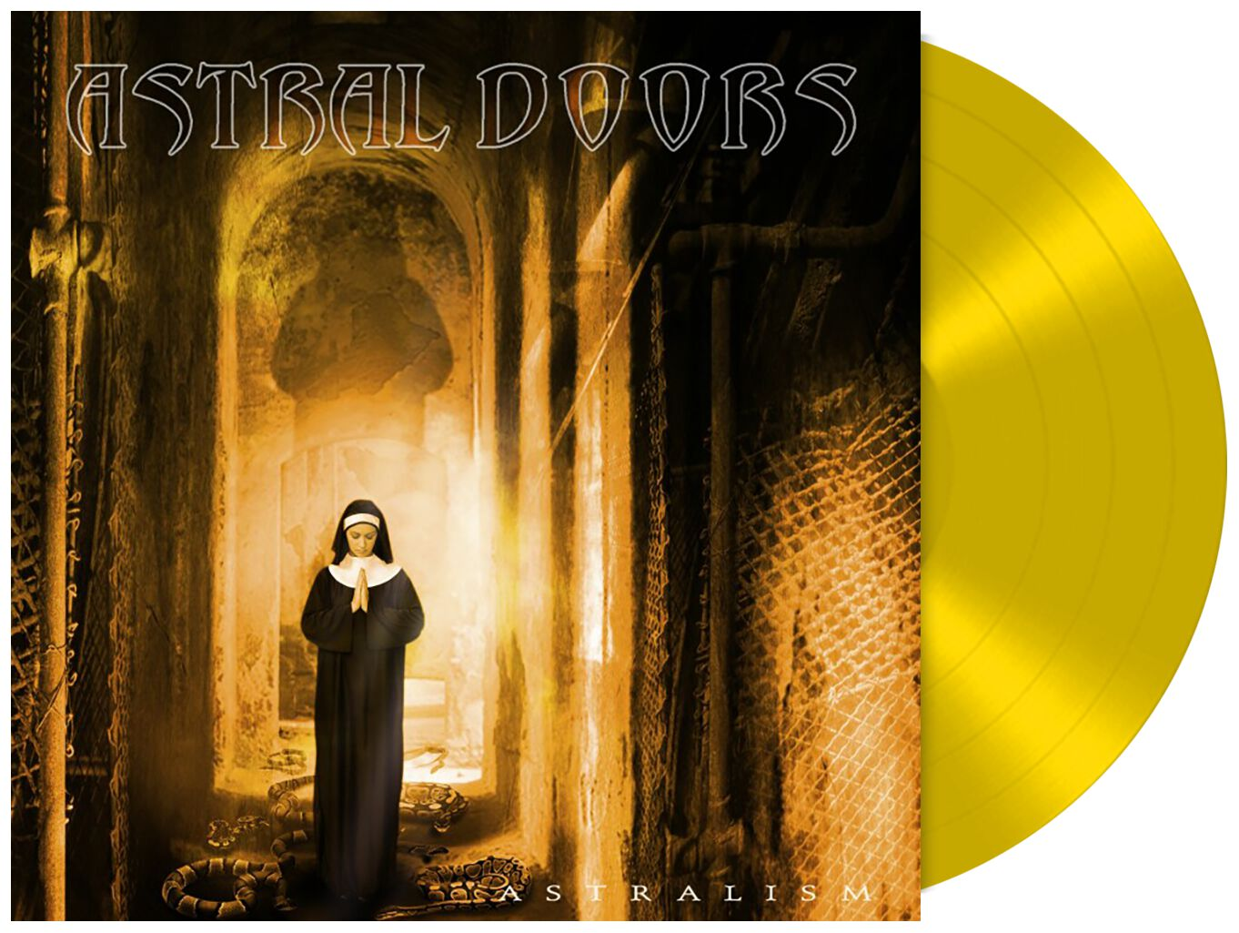 Image of Astral Doors Astralism LP gelb