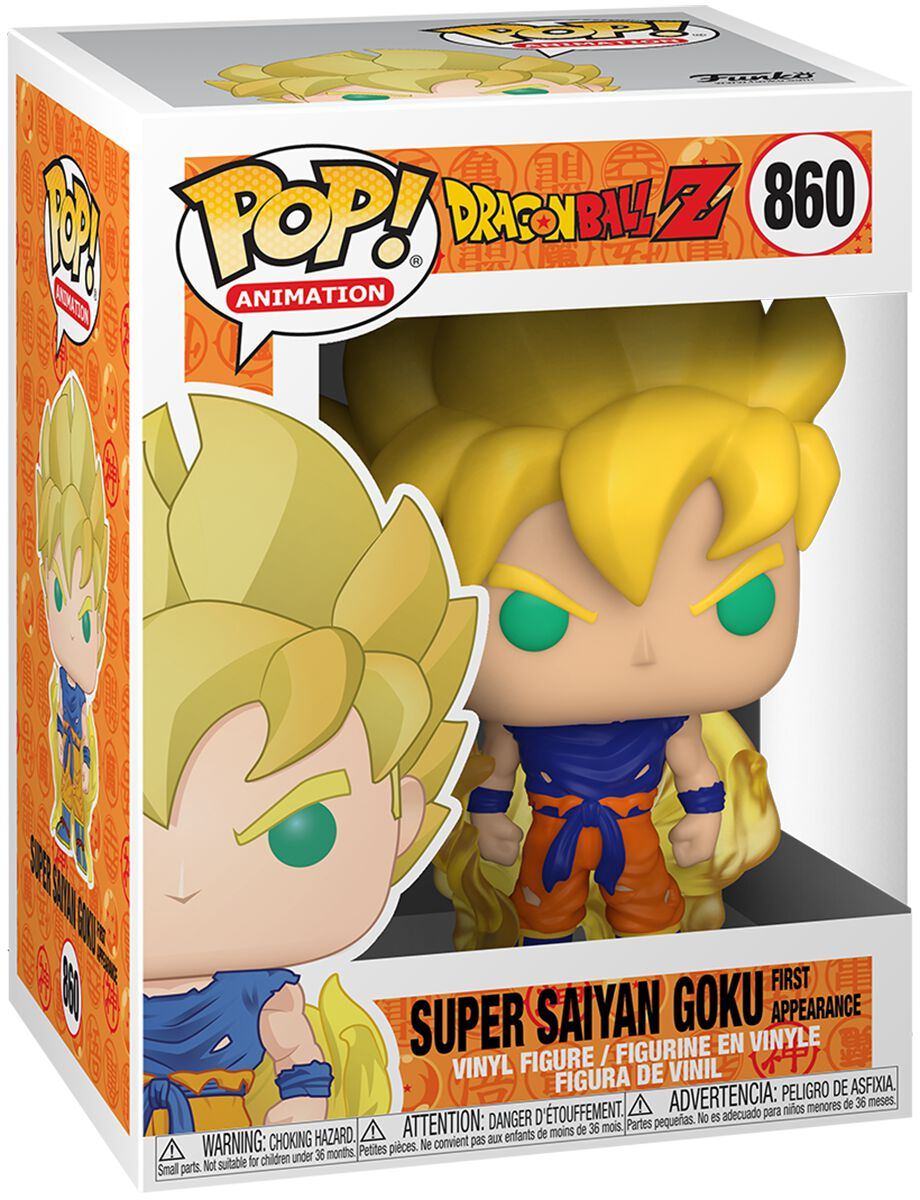 Dragon Ball Z - Goku (First Appearance) Vinyl Figur Funko Pop! multicolor 48600