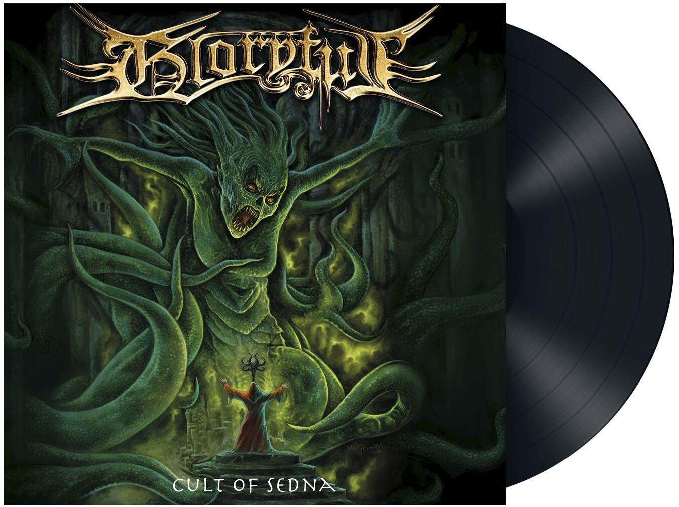 Gloryful Cult of sedna LP schwarz MASL 1040