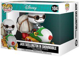 Jack Skellington in Snowmobile (POP Rides) Vinyl Figur 104
