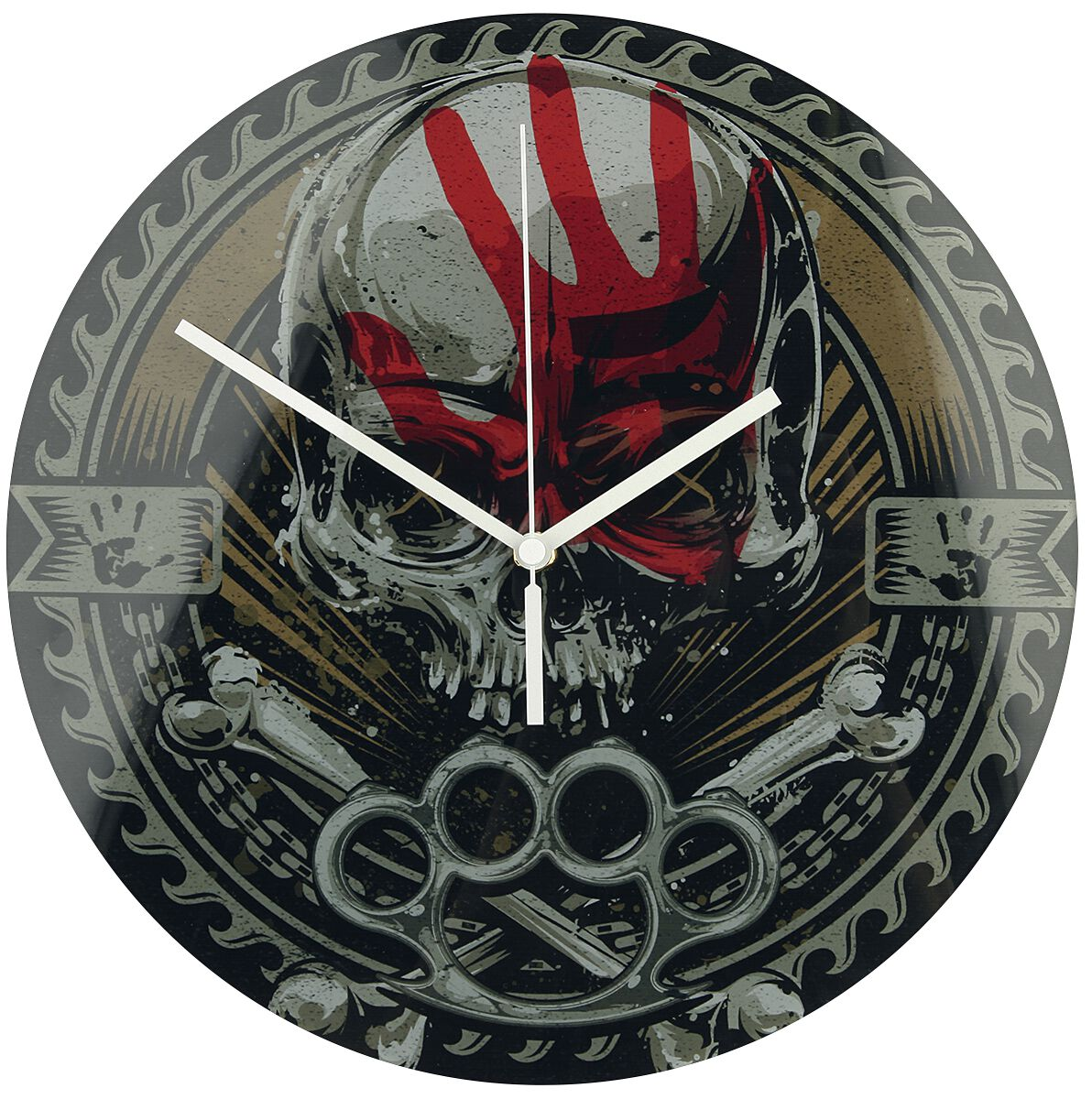 Five Finger Death Punch Knucklehead  Wanduhr  Standard