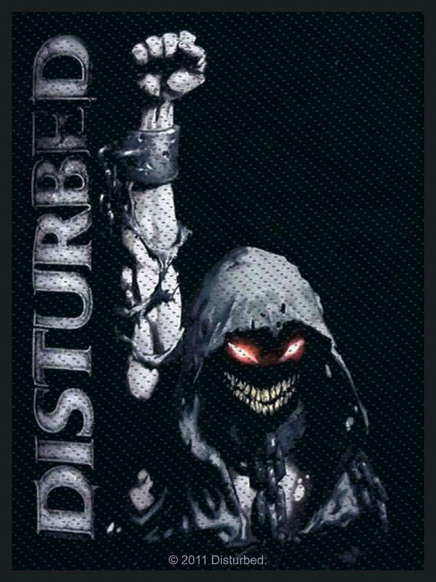 Disturbed  Eyes  Patch  Standard
