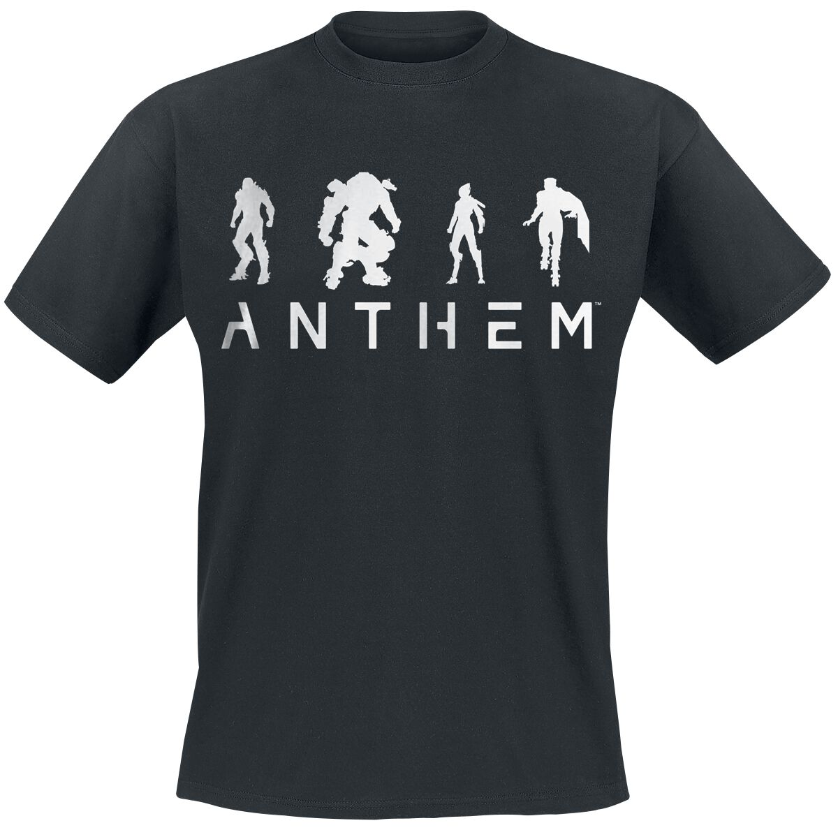 Image of Anthem White Out T-Shirt schwarz