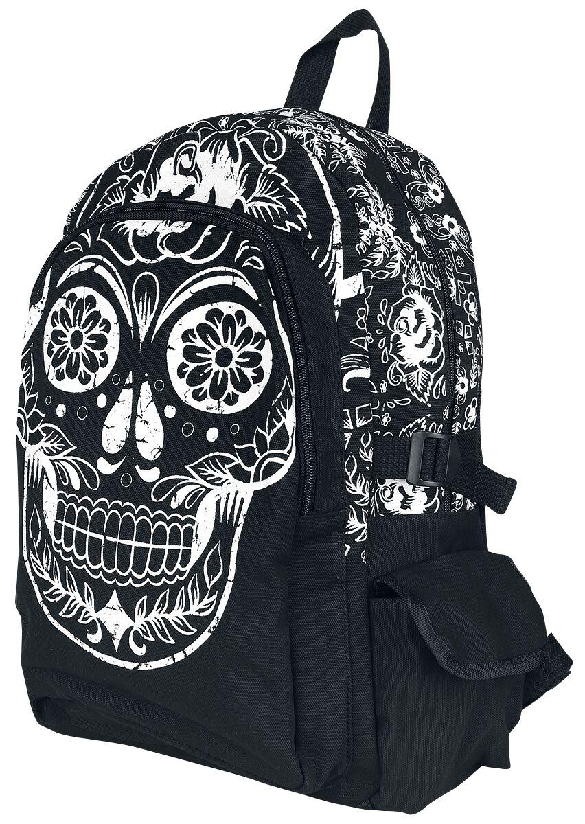 Banned Alternative Collins Backpack Rucksack schwarz BG7169