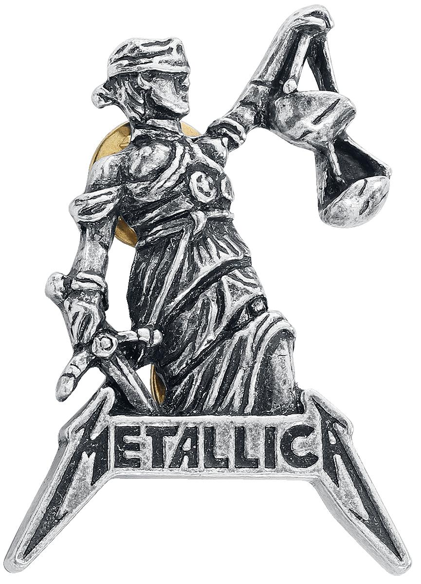 Metallica - Justice For All - Pin - silberfarben