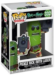 Pickle Rick (mit Laser) Vinyl Figure 332