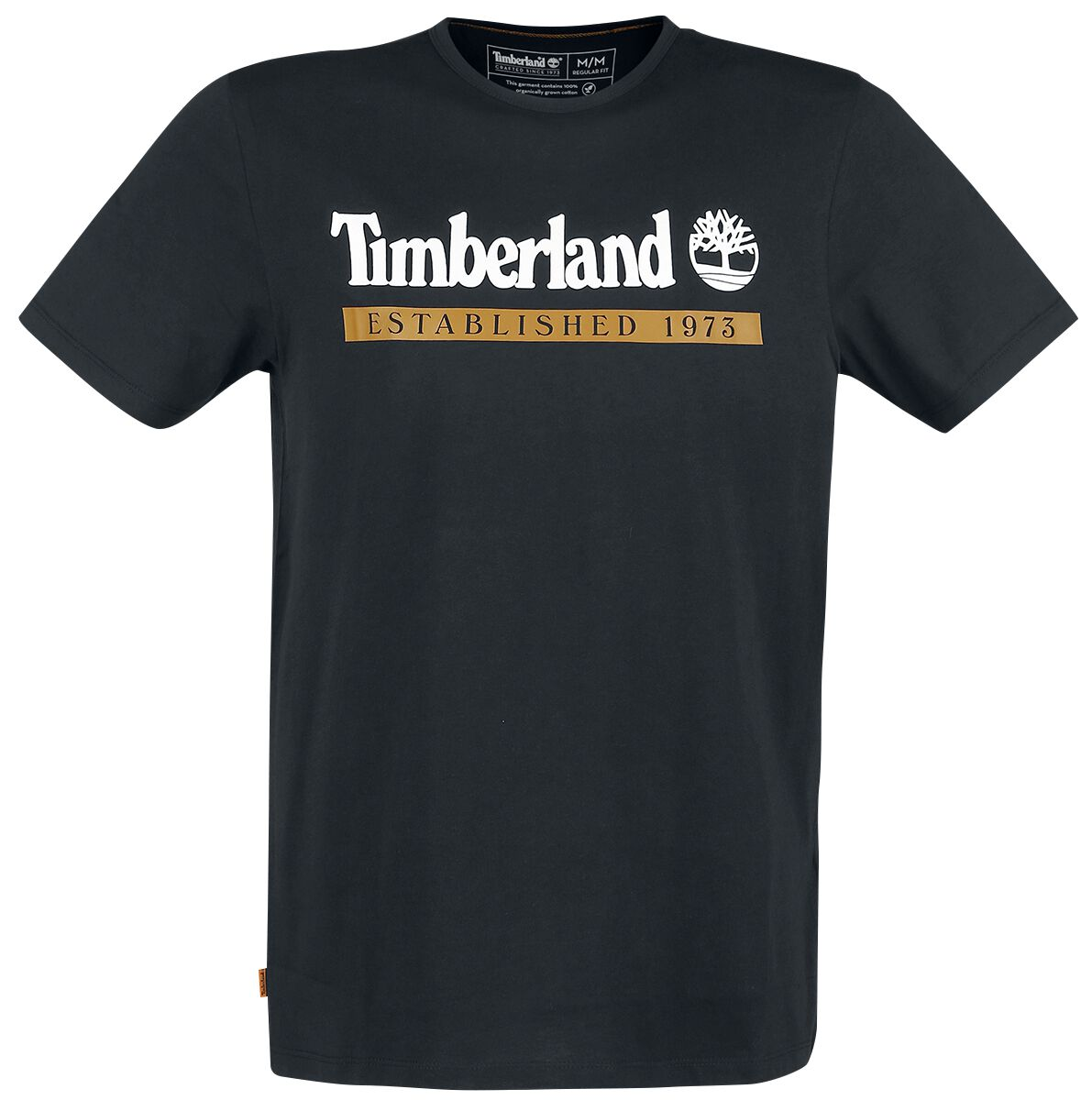 Timberland YC Established 1973 Tee  T-Shirt  schwarz