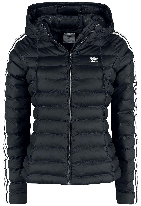 Jacken - Adidas Slim Jacket Winterjacke schwarz weiß  - Onlineshop EMP