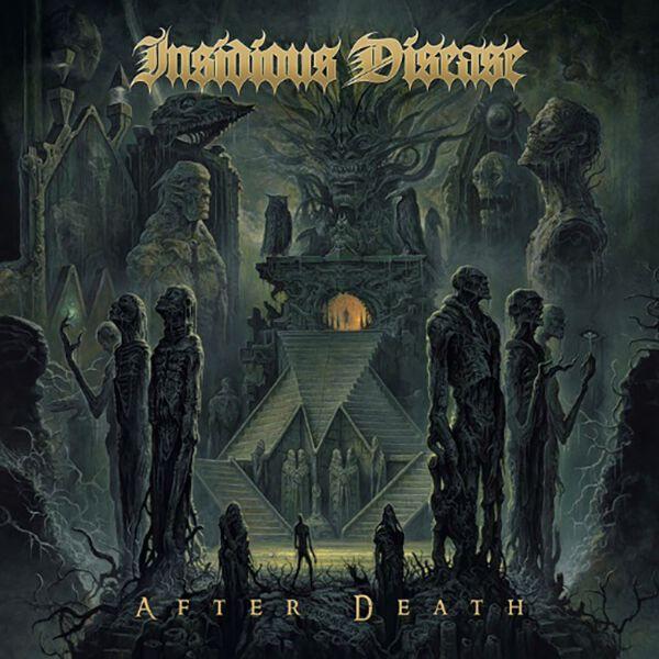 Insidious Disease After death CD multicolor NBA5459-2