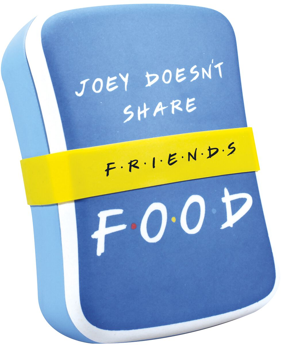 Image of Friends Joey Doesn't Share Food Brotdose multicolor
