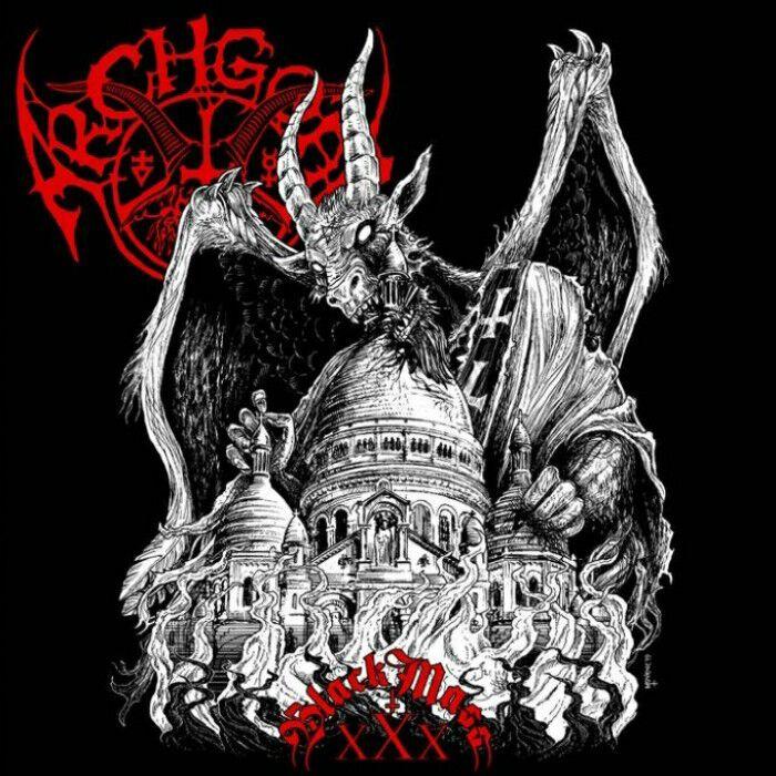 Image of Archgoat Black mass XXX (Live) CD Standard