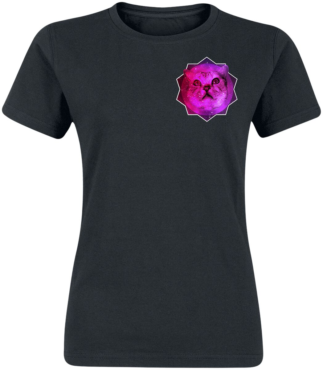 janina_miau Catnip T-Shirt schwarz POD - FOTL VW - Catnip