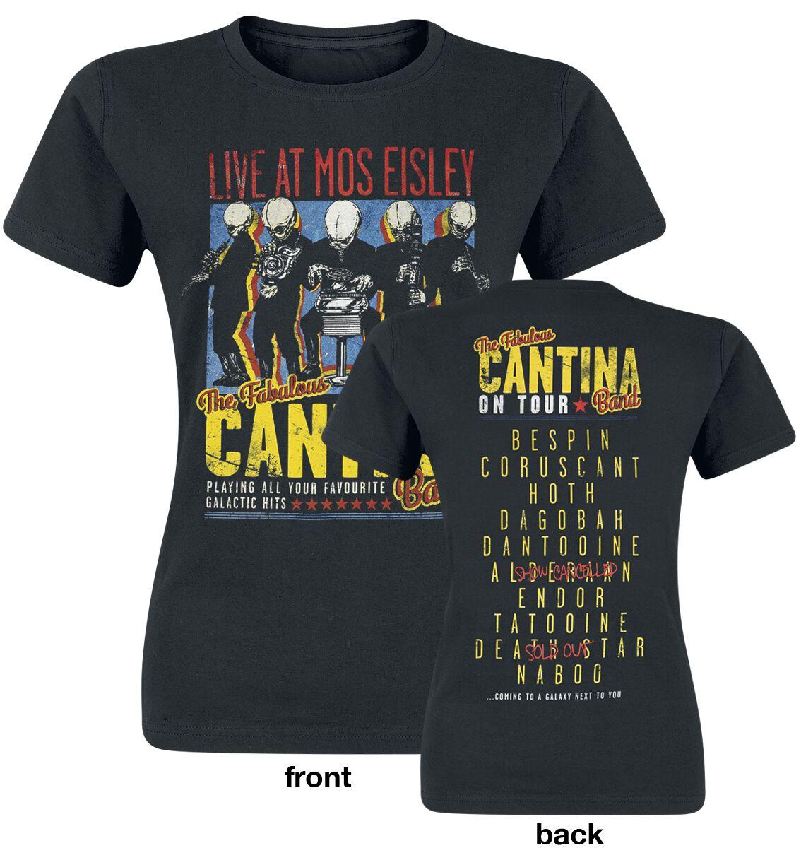 Oberteile - Star Wars Cantina Band On Tour T Shirt schwarz  - Onlineshop EMP
