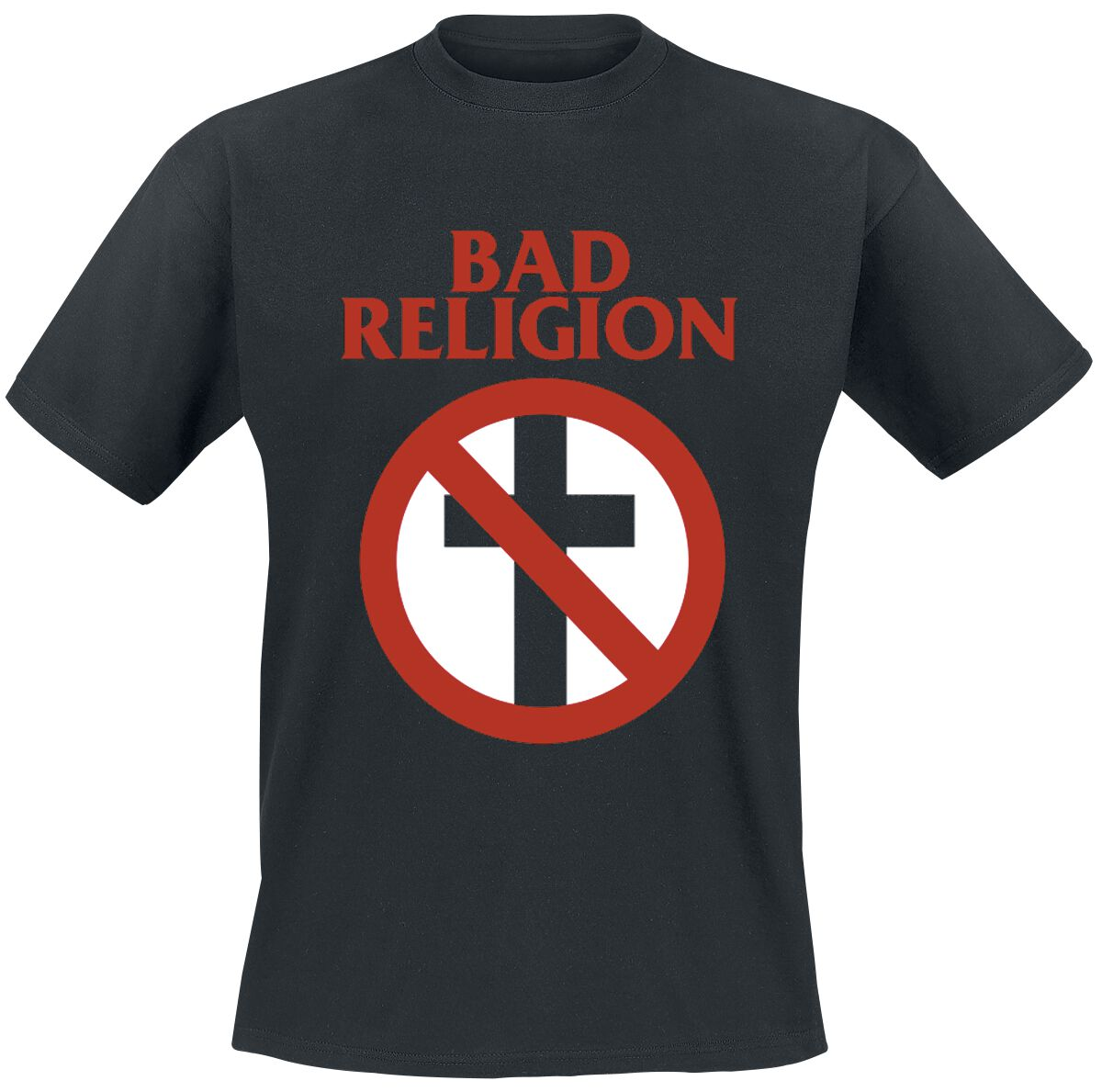 Image of Bad Religion Cross Buster T-Shirt schwarz