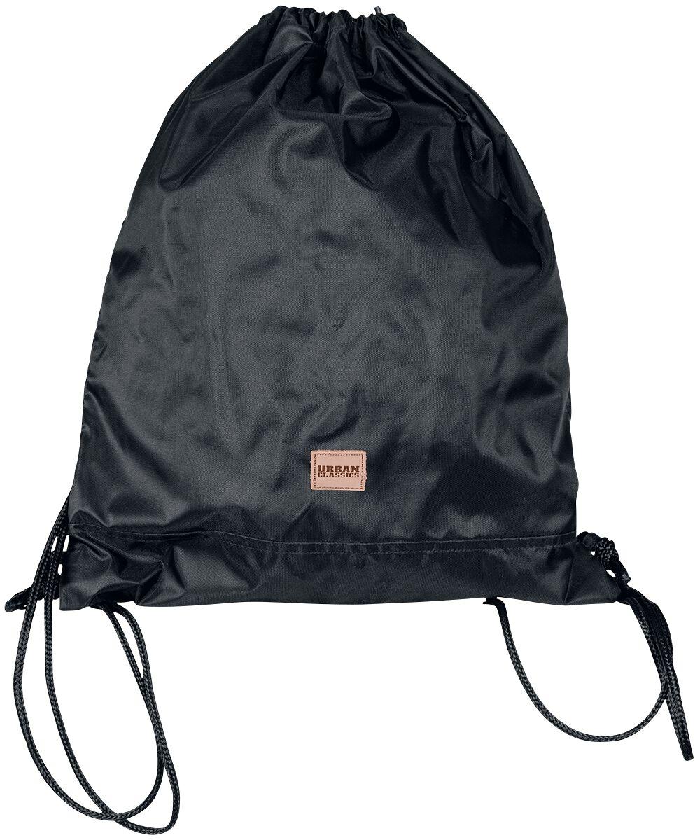 Sporttaschen - Urban Classics Gym Bag Turnbeutel schwarz  - Onlineshop EMP