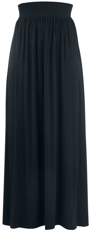 Roecke - Rotterdamned Long Skirt Langer Rock schwarz  - Onlineshop EMP