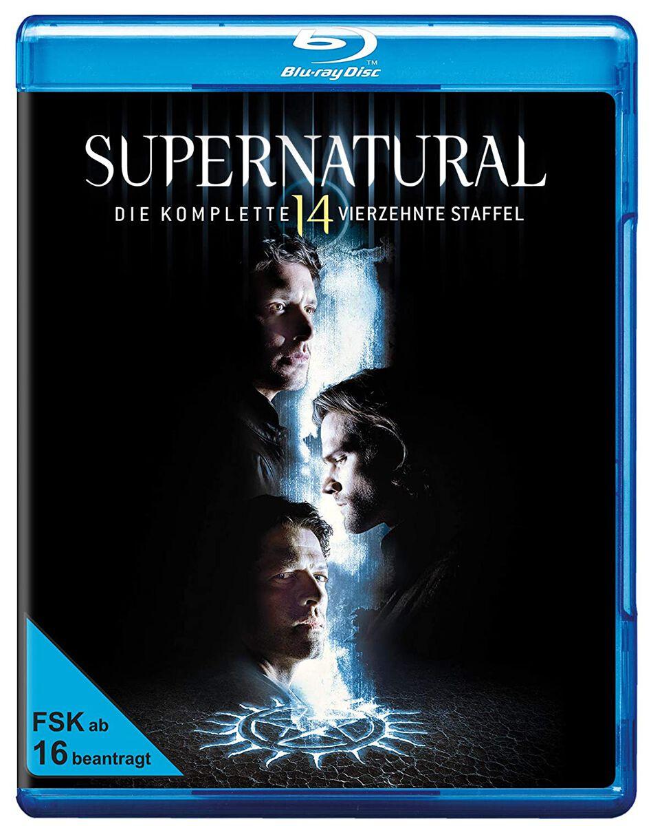 Image of Supernatural Die komplette vierzehnte Staffel 3-Blu-ray Standard