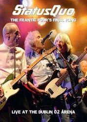 Frantic four's final fling - Live in Dublin