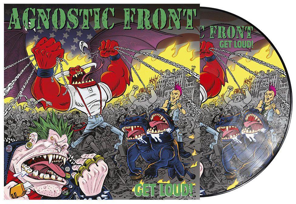 Image of Agnostic Front Get loud! LP Picture