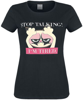 Stop Talking I'm Tired
