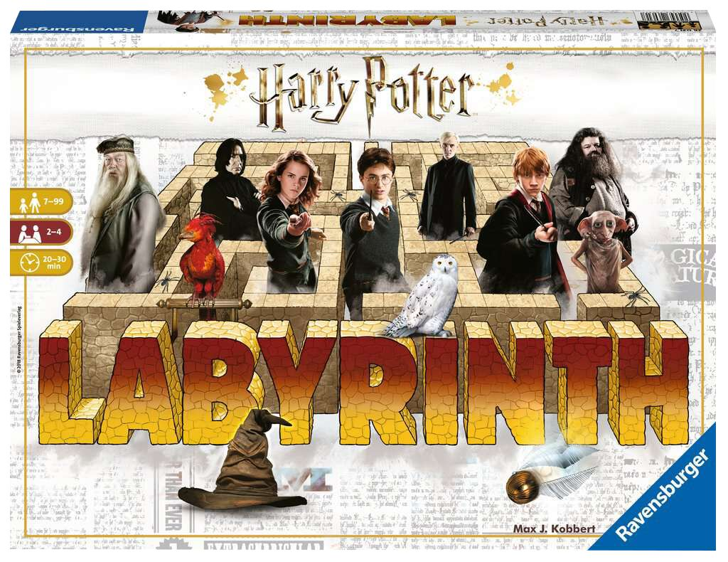 Image of Harry Potter Das verrückte Labyrinth Brettspiel multicolor