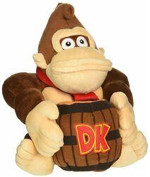 Donkey Kong mit Faß