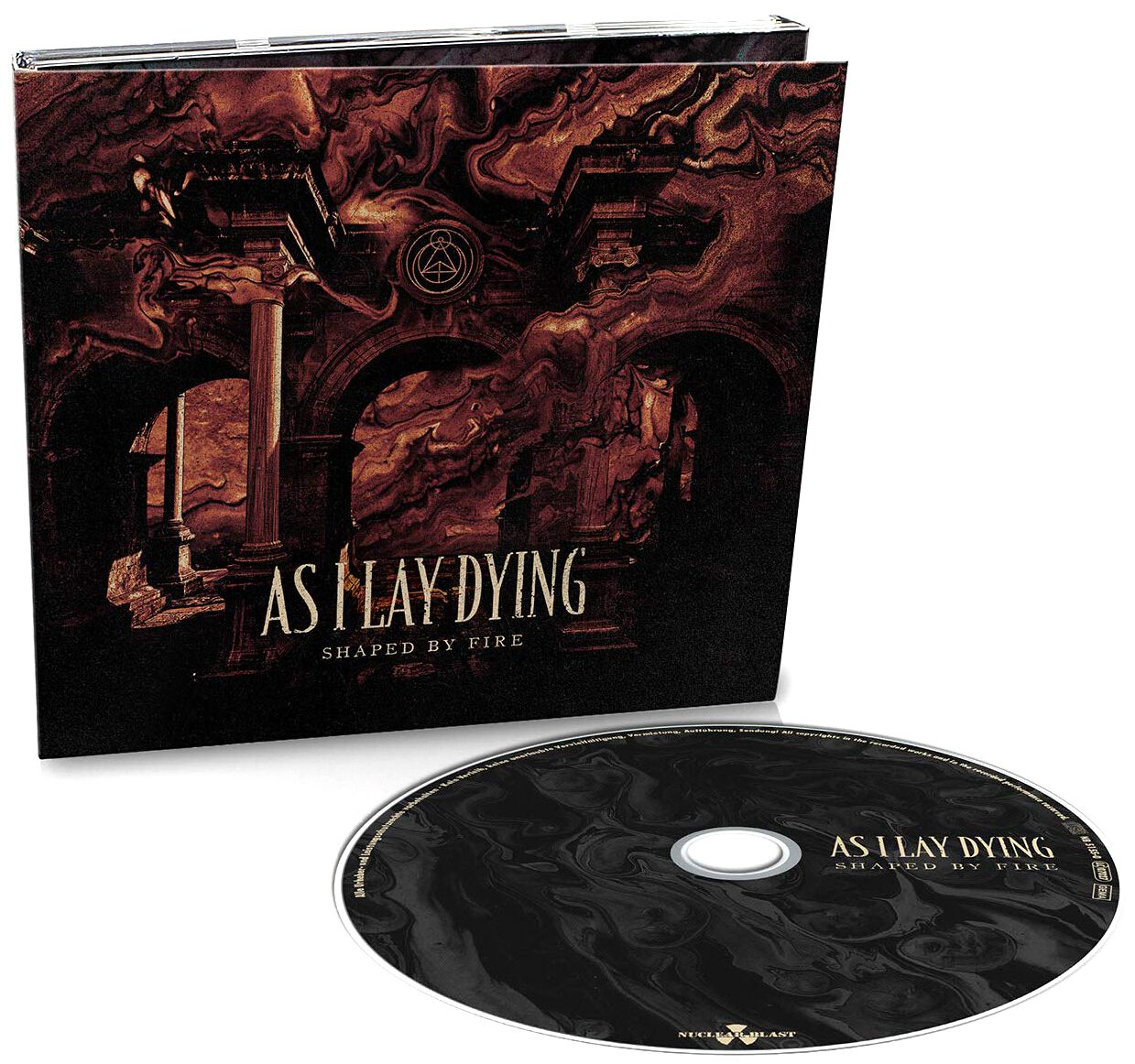 Image of As I Lay Dying Shaped by fire CD Standard