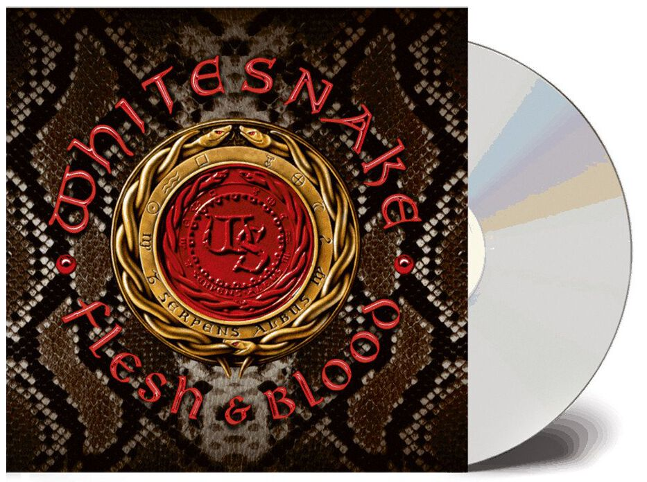 Whitesnake Flesh & blood CD multicolor FRCD 950