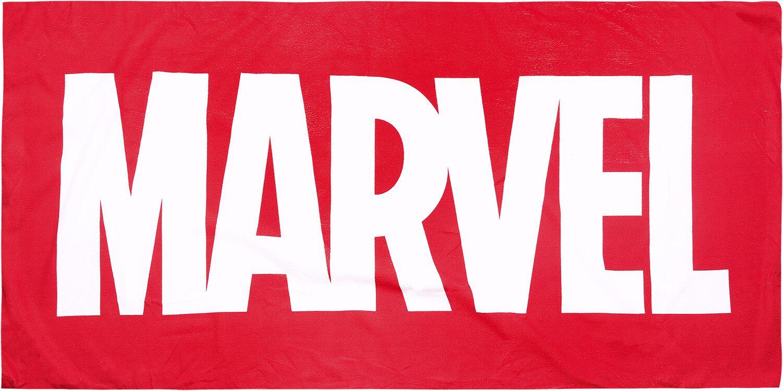 Image of Marvel Marvel Logo Badetuch multicolor