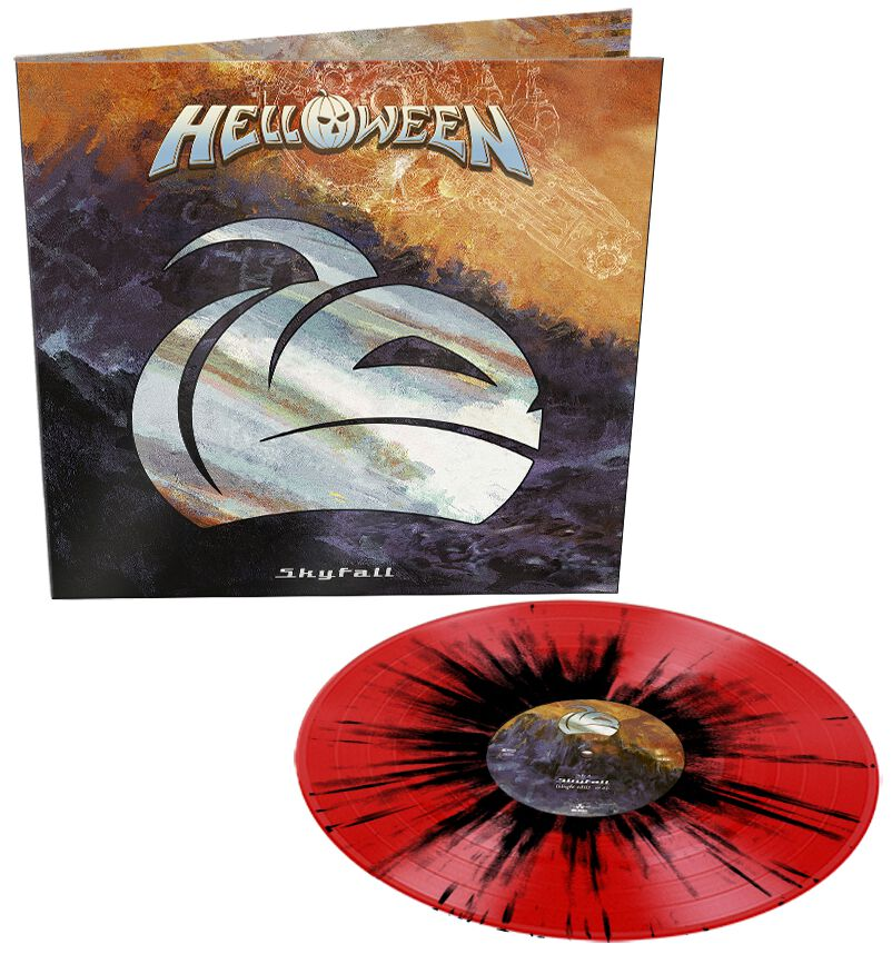 Image of Helloween Skyfall 12 inch-Single splattered