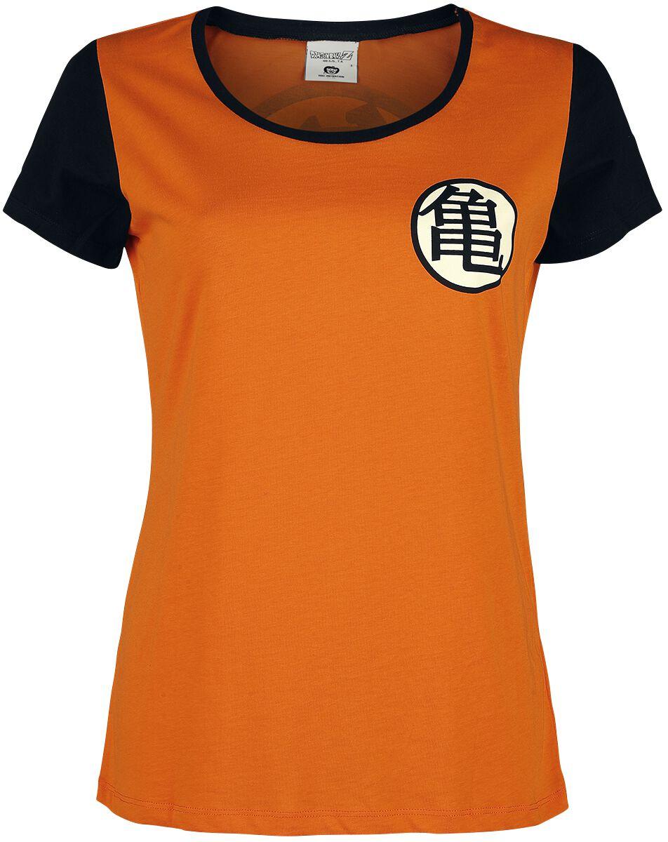 Dragon Ball Kame Symbol T-Shirt orange ABYTEX332
