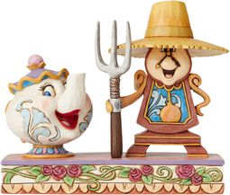 Mrs. Potts & Cogsworth Figurine
