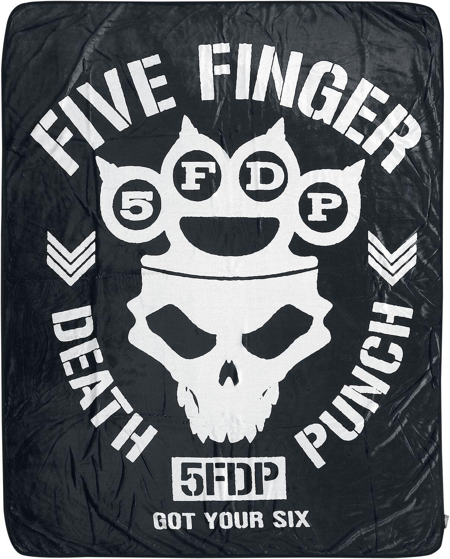Five Finger Death Punch   Decke  schwarz