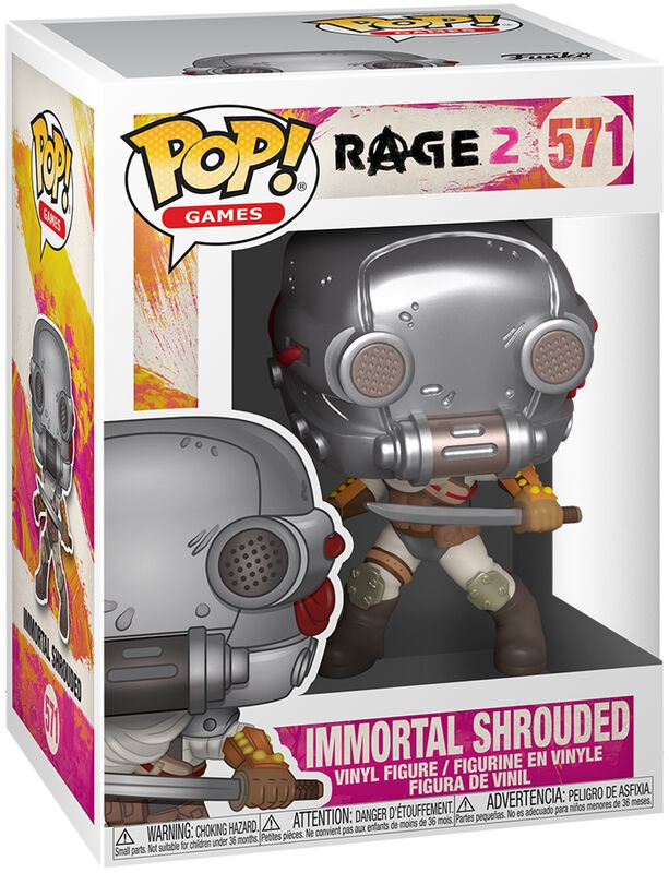 Rage 2 Immortal Shrouded Vinyl Figur 571
