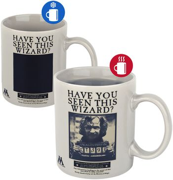 Wanted Sirius Black - Tasse mit Thermoeffekt