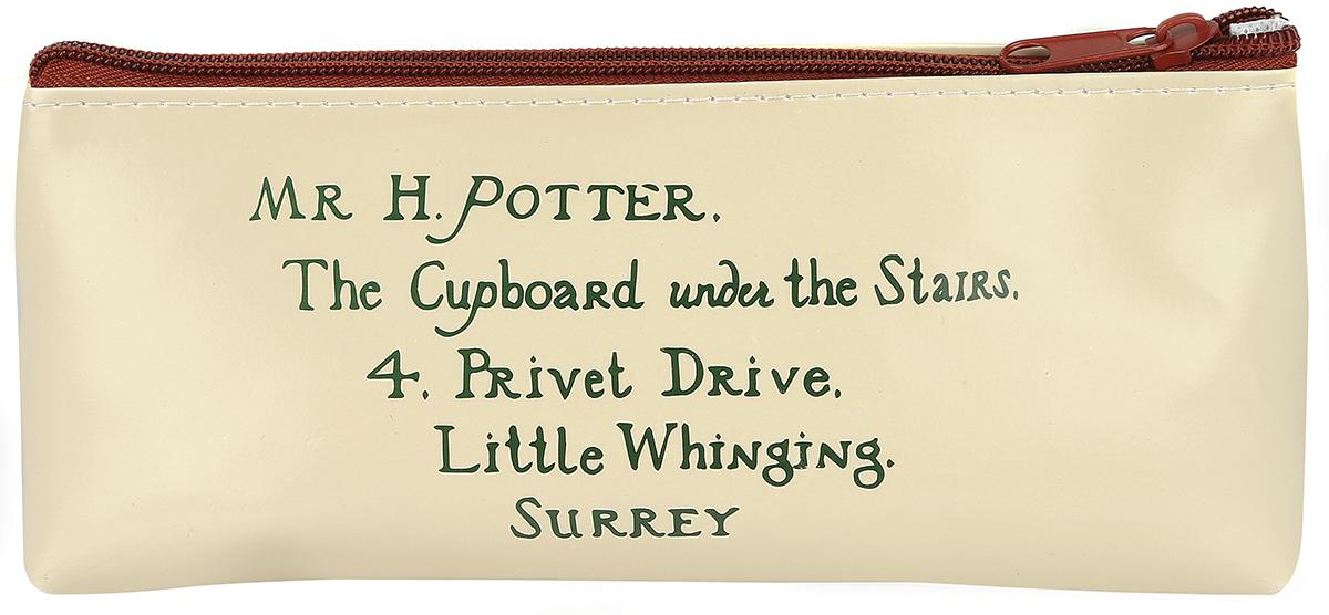 Image of Harry Potter Hogwarts Letter Etui Mehrfarbig