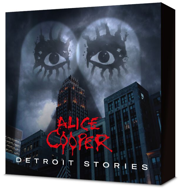 Image of Alice Cooper Detroit stories CD & Blu-ray Standard