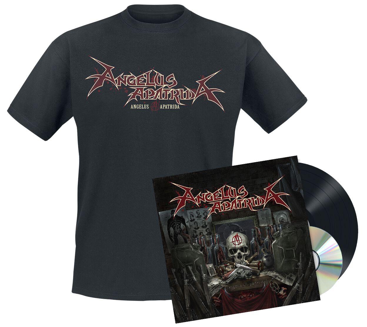 Image of Angelus Apatrida Angelus Apatrida LP & CD & T-Shirt Standard