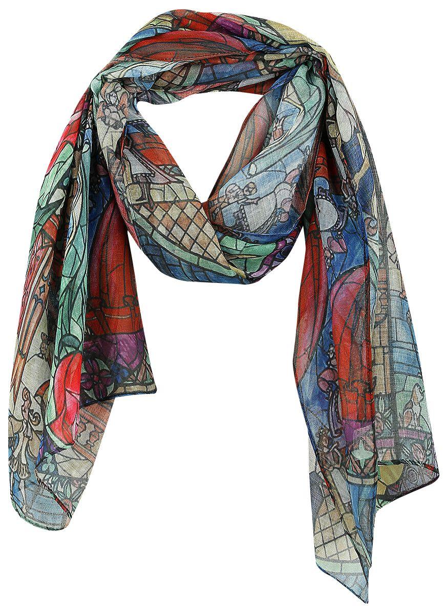 Schals für Frauen - Die Schöne und das Biest Rose Schal multicolour  - Onlineshop EMP